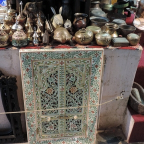 Muttrah Souk, Old Muscat, Oman, photo by Sallie Volotzky
